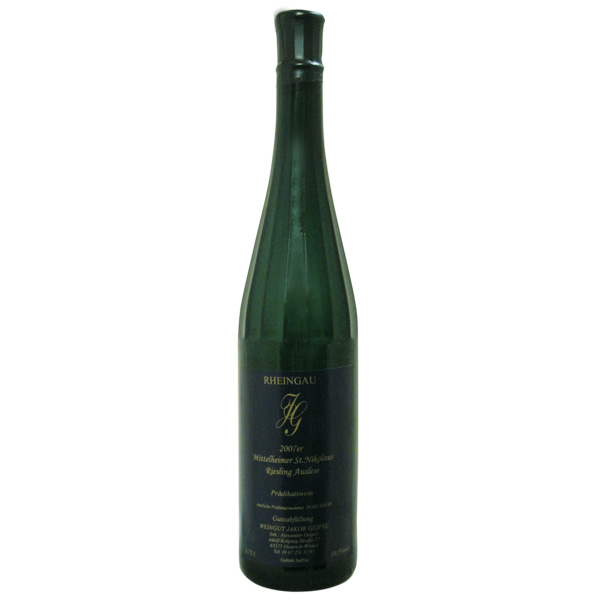 2007_Riesling-_Auslese_MH_St.Nicolaus